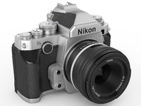 3d model nikon df digidal camera