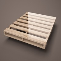 modern coffee table pallet 3d c4d