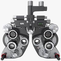 maya phoropter vision tester