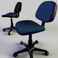 Rigged office chair