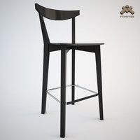 stool barstool evergreen 3d model