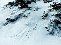 snow covered realistic terrain 3d model