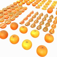 Orange Full Collection Realistic Vray v ray v-ray