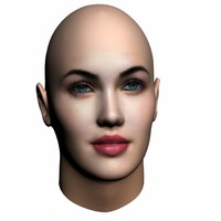 3d megan fox head