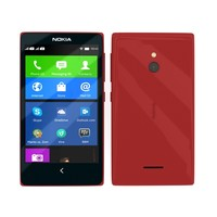 nokia xl red 3d max