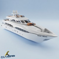 3ds max yacht
