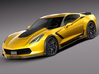 2014 chevrolet corvette 3d 3ds