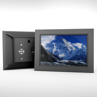 3d digital picture frame model