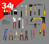 3ds max tools riveter brush hammer