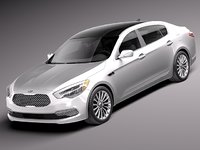 2014 2015 sedan luxury 3d lwo