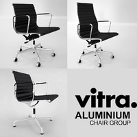 3d vitra office chair model