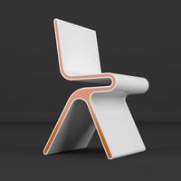 3d monoqi chair model