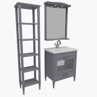 bathroom furniture house home 3d max
