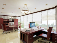 maya office interior