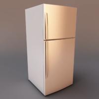 3dsmax refrigerator fridge
