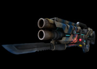 3d weapon gun