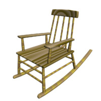 3d ing chair