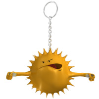 obj sun star smiley