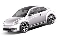 3d lwo volkswagen beetle 2012