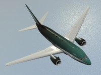 boeing 737-600 private livery 3d model