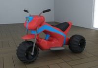 toy tricycle eco 3d 3ds