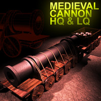 Cannon Old Gun Medieval
