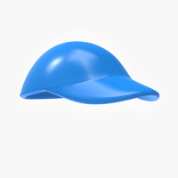 3d model cartoon hat