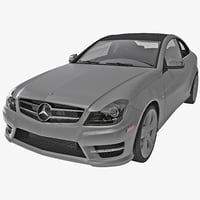 3d model mercedes benz c class