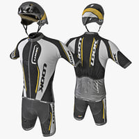 cyclist clothes 2 c4d