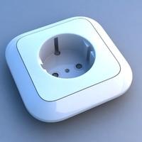 3d max socket
