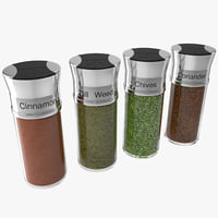 maya spice bottles set 3