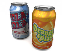 Aluminum Soda Beverage Can