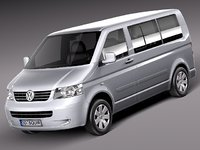 germany van volkswagen 2009 3d 3ds