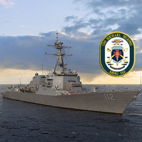 US NAVY USS Michael Murphy DDG-112 Arleigh Burke class flight IIA destroyer