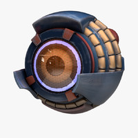 maya eyeborg eye