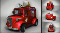 maya ice car