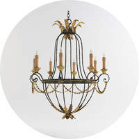 3d model elegance chandelier