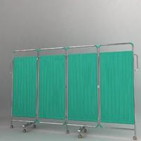 3d hospital curtain model