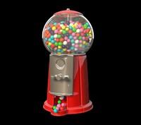 c4d gumball machine