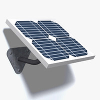 wall mounted solar panel max