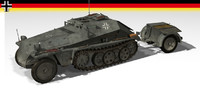 3d sdkfz 252 sd