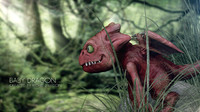 dragon baby c4d