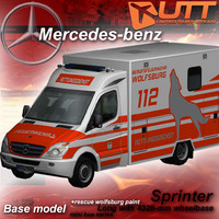 3d model mercedes benz sprinter wolfsburg