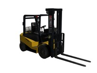 3d forklift fork lift model
