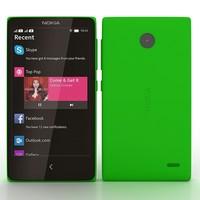 nokia x green 3d 3ds