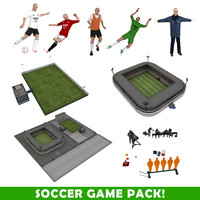 Soccer Game Pack