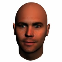 3d paul walker head