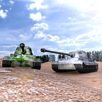 panzer military 3d model