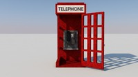 call-box minecraft 3d c4d