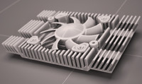 heatsink fan cooling max